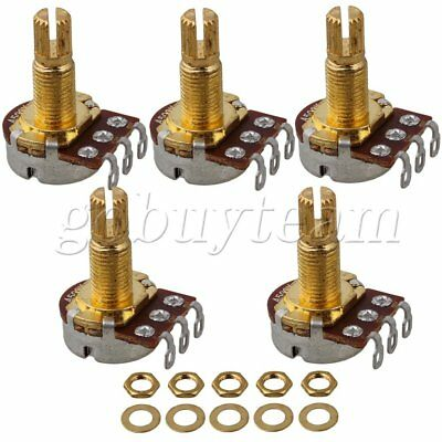 A500k 18mm Shaft Aluminum Pots For Guitar Potentiometer With 5PCS