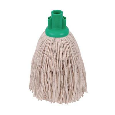 2Work 12oz Twine Rough Socket Mop Green Pack of 10 PJTG1210I
