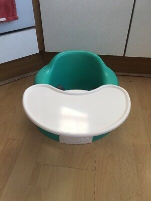 Bumbo baby seat With Tray & Safety Straps- Green ,FREE POSTAGE!!!!