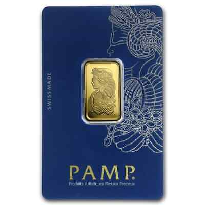 10 gram Gold Bar - PAMP Suisse Lady Fortuna Veriscan® (In Assay) - SKU #82239