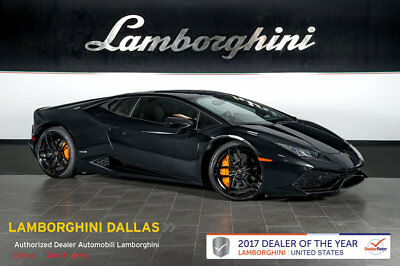 2015 Lamborghini Huracan LP610-4 Coupe 2-Door NAV+RR CAM+PWR HEATED SEATS+LIFT SYS+TRANSPARENT ENGINE+STYLE PACKAGE+BRANDING