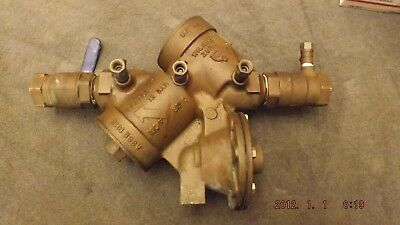 "Genuine 1 1/4"" Zurn Wilkins (975XL) Backflow Preventer"