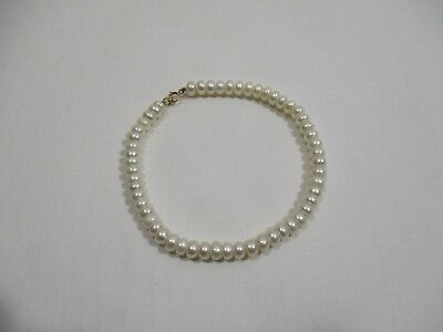 Bracelet Perle De Culture Fermoir Or  Pearl Bangle Perlen Armband