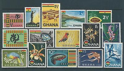 GHANA.  Independence, 1959, values to 10/-.  Mint