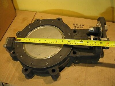 """Milwaukee HP1LCS4211 8"""" Butterfly Valve Sizes 8 IN NO Handle 150 RPTFE"""