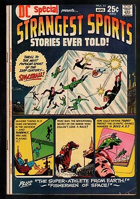 DC Special #13 FN- 5.5 DC Giant 1971 Strangest Sports Stories!!!
