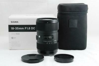 SIGMA Standard Zoom Lens Art 18-35mm F1.8 DC HSM APS-C for Nikon New in Box