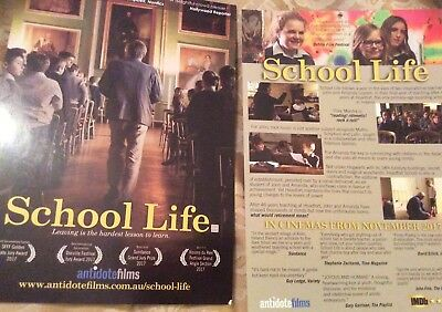 Promotional Movie Flyer For School Life
