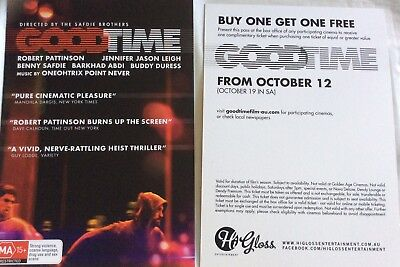 One Free Ticket - Good Time Buy One Get One Free Robert Pattinson