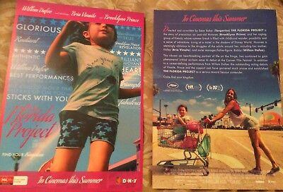 Promotional Movie Flyer For The Florida Project