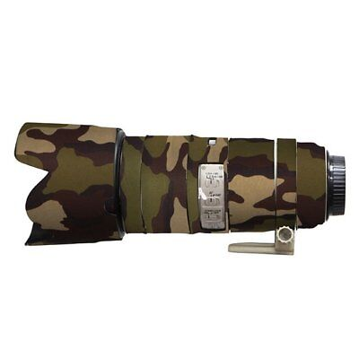 Canon 200 400mm f4 IS Neoprene lens protection camouflage coat cover English Oak