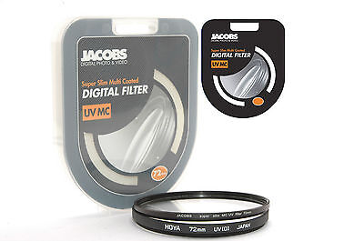 Jacobs Slim  72mm UV Multi Coated Filter Digital