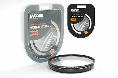 Jacobs Slim 82mm UV Multi Coated Filter Digital UK Pro for Hoya nikon canon NEW