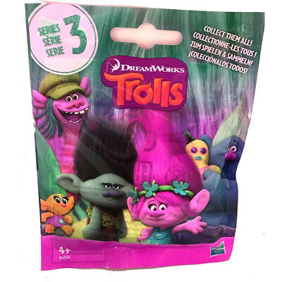 Dreamworks Trolls Collectible Figure Blind Surprise Bag Series 3 Party Gift Bag
