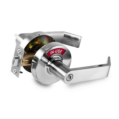 Privacy Indicator Lock w/In Use or Vacant Indicator, Commercial Grade (26D),