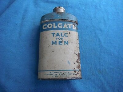 vintage Colgate Talc for Men