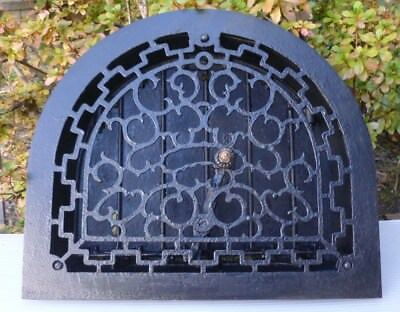 ORNATE Antique Dome Top Heat Register Grate-Architectural Salvage
