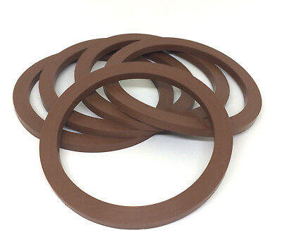 "Camlock Seal 2-1/2"" Brown Viton Gaskets Pack of 5"