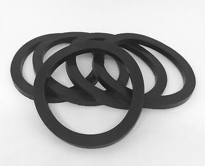 "Camlock Seal 1-1/4"" Black Nitrile Gaskets Pack of 5"