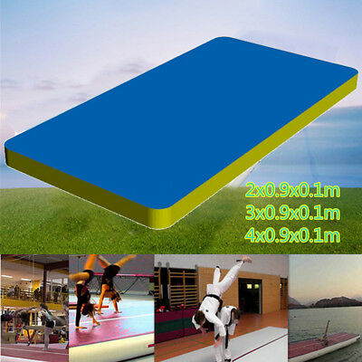 Inflatable Gym Mat Air Tumbling Track Gymnastics Cheerleading Taekwondo Yoga Pad