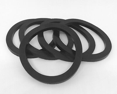 "Camlock Seal 2-1/2"" Black Nitrile Gaskets Pack of 5"