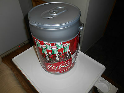New Coca-Cola Can Cooler 14 X 9.5(Shape Of A Can) Litre 8.5 Colors Of A Can Nwt.