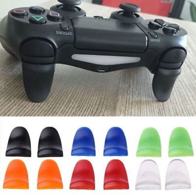 2pcs R2 L2 Button Extended Trigger Cover Extender for Playstation 4 PS4 FR
