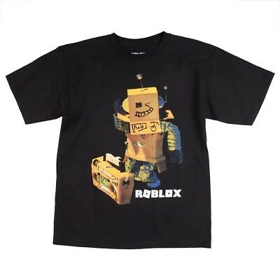"""NEW Roblox """"Robot"""" Youth T-Shirt Authentic Short Sleeved Tee JUST RELEASED"""