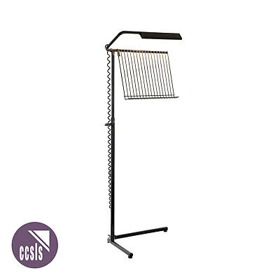 RATstands Opera Stand with Classic Tray and Mains 240v Duo Light