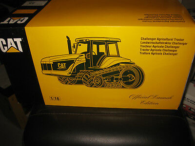 Nzg 1/16 Cat Caterpillar Challenger 35 Agricultural Tractor  Old Shop Stock Rare