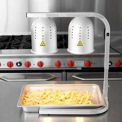 Adjustable Restaurant French Fry Warmer Fried Food Chicken Fries Infrared Bulb