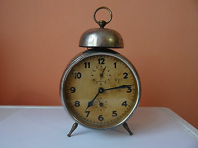 rare vintage GERMAN  ALARM JUNGHANS   antiques RETRO  1925-1935