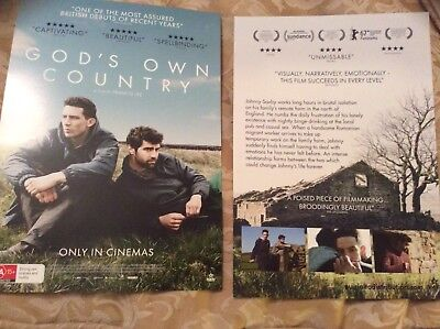 Promotional Movie Flyer For Gods Own Country NOT A DVD