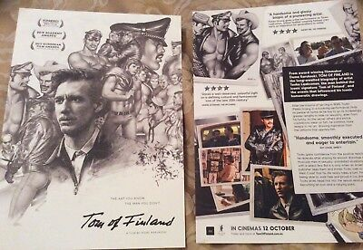 Promotional Movie Flyer For Tom Of Finland NOT A DVD