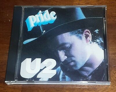 U2 Pride - extremely rare Italy Italian version 1980 - LIKE NEW CD FREE S&H?