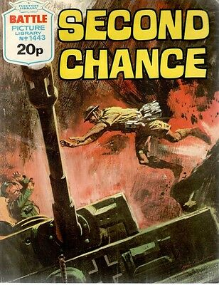 1981 No 1443 33725 Battle Picture Library  SECOND CHANCE