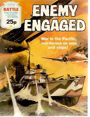 1983 No 1608 33734  Battle Picture Library  ENEMY ENGAGED