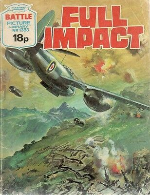 1980 No 1383 W33470 Battle Picture Library  FULL IMPACT