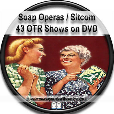 Soap Operas Sitcoms 42 Old Time Radio Show Radio Anthology MP3 DVD