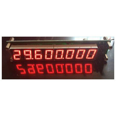5X(0.1~ 60MHz 20MHz ~ 2.4GHz RF Singal Frequency Counter Cymometer LED Test N1V1