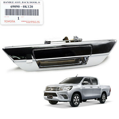 GENUINE TOYOTA CHROME DOOR HANDLE BOWL CUP FRAME HILUX 2015-2018 REVO DOUBLE CAB