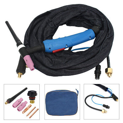 WP-17FV-12 12-Foot 150Amp Tig Welding Torch Complete With Flexible Valve Head
