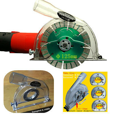 """Clear Cutting Dust Shroud kit Grinding Dust Cover for 4""""/ 5"""" Angle Hand Grinder"""