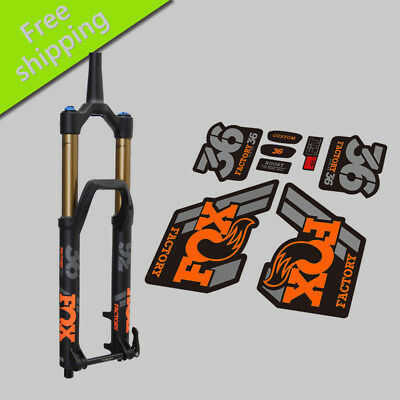 2018 FOX 36 fork Stickers MTB mountain bike bicycle front fork race dirt decals