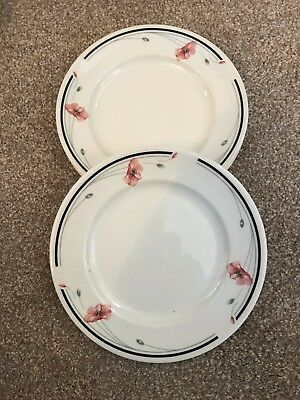 Johnson Brothers Summerfields Dinner Plates X 6