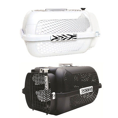 Catit Style Profile Voyageur Cat Carrier - White Tiger or Black Tiger - Small