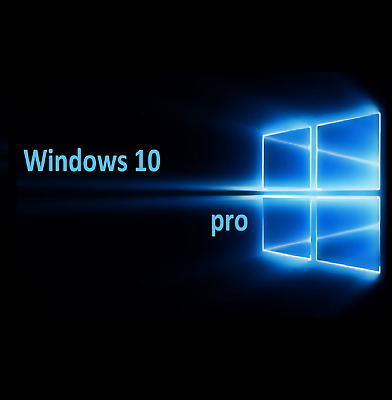 WINDOWS 10 Pro - Win 10 Pro 32/64 Bit - Licencia Original - Multilanguage