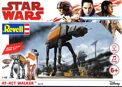 Star Wars AT - ACT WALKER  Neu & OVP Revell 45 - teilig