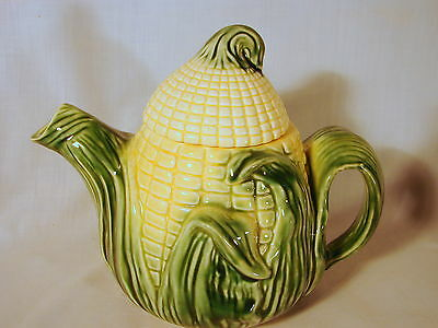 Old Stanford Corn-ware 7inch Teapot w/ Lid, Excellent Condition, #511, Shawnee