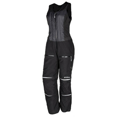 Klim Allure Bib Insulated Waterproof Gore-Tex Snocross Snowmobile Riding Pants